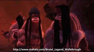 Brutal Legend Walkthrough - Mission 2: Exploited in the Bowels of Hell Part 3