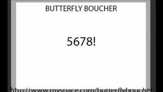 Butterfly Boucher - 5678!