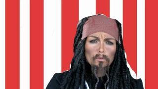 Captain Jack Sparrow Make-Up