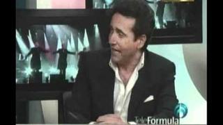 Carlos Marin de Il Divo en Radio Fórmula Con Javier Poza