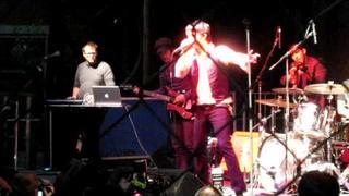 Cedric Bixler-Zavala not making any fucking sense at the Neon Desert Music Festival