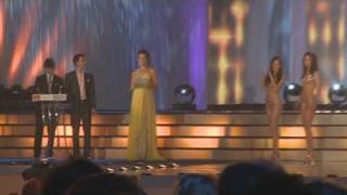 Česká Miss 2009: Vyhlášení vítězky večera