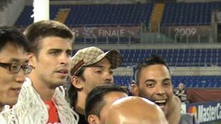 Champions League Final 2009, Manchester United vs Barcelona - Gerard Pique