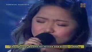 "Charice Pempengco ""You'll never walk alone"""