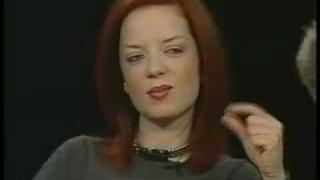 Charlie Rose - Shirley Manson (The Queen) & Garbage 1/2