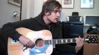 Charlie Simpson playing acoustic Down Down Down for Sugarscape