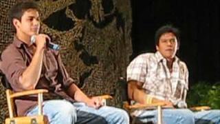 Chaske Spencer and Bronson Pelletier