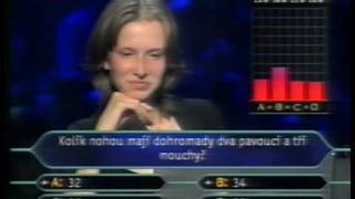 Chcete být milionářem? - dětský speciál (2001) [Part 6/7]