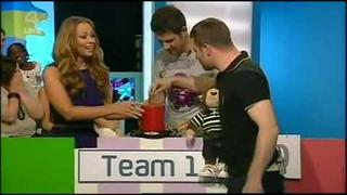 Cheryl Cole & Kimberly Walsh with Gerry Stergiopoulos & Chanelle Hayes.flv