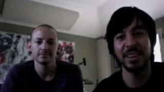 Chester Bennington And Mike Shinoda Live Recorded Chat Part 1 Of 2