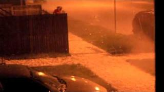 Chicago Hail Storm