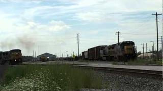 Chicagoland Rail Series: Barr Yard Overpass Footage, CP LOC, CP Grove, And More, 8-13-10.