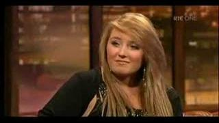 Chloë and her Mother on Irish TV