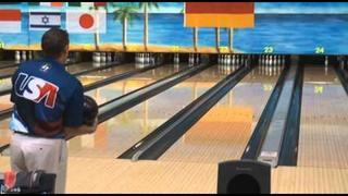 Chris Barnes shoots 300 in singles - 2010 World Men's Championships
