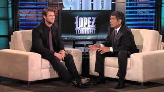 Chris Hemsworth at Lopez Tonight