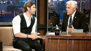 Chris Hemsworth Tonight Show 2013-09-16