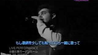 Chris Kirkpatrick as the MC (*NSYNC Live in Japan 2000)