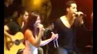 Christian Chavez Feat Agnes Monica - En Donde Estas (Live In Sao Paulo,Brazil) @ January 17th 2012