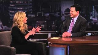Christina Applegate on Jimmy Kimmel Live PART 3