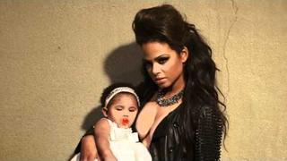 Christina Milian Behind The Scenes Latina Magazine Cover Shoot