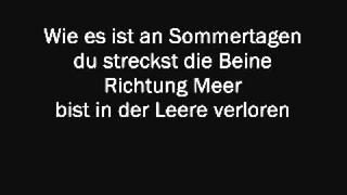Christina Stürmer - An Sommertagen (Lyrics & English Translation)