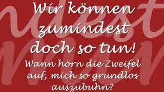 Christina Stürmer - Reine Nebensache [Lyrics]