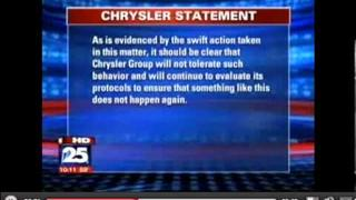 Chrysler Fires 13 Auto Union Workers for drinking on lunch break.mov