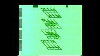 Classic Game Room HD - 3D TIC-TAC-TOE for Atari 2600 review