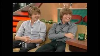 Cole and Dylan Sprouse on Bonnie Hunt