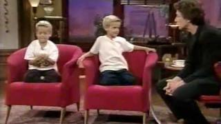 Cole and Dylan Sprouse on Martin Short