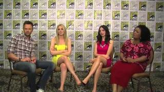 Comic Con 2012 - Joel McHale, Gillian Jacobs, Alison Brie and Yvette Nicole