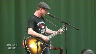 "COREY TAYLOR SLIPKNOT ""SPIT IT OUT"" ACOUSTIC FOR SEVEN DEADLY SINS"