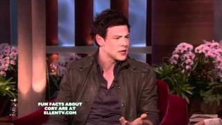 Cory Monteith on Ellen 18/2/2011