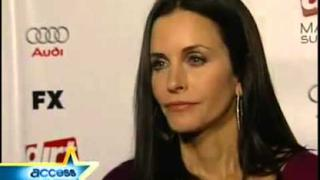 Courteney Cox interview about Dirt