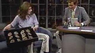Crispin Glover on Letterman