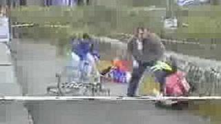 Cyklista svině