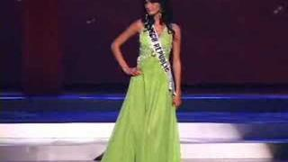 Czech Rep - Miss Universe 2008 Presentation - Evening Gown