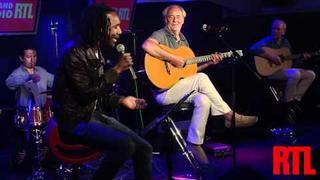Daby Toure & Maxime Le Forestier - San Francisco en live sur RTL et en hd