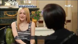 Dakota Fanning in Korean TV part 1 January 2013
