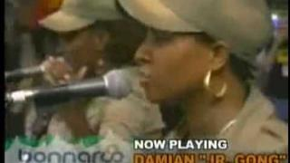 """Damian Marley """"Jr. Gong"""" - Love and Inity LIVE @ Bonnaroo 2006"""