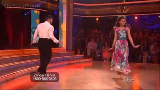 Dancing with the stars-week 8