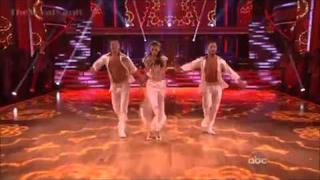 Dancing with the stars-week 8-trio with Gleb