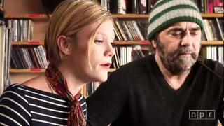 Daniel Lanois and Trixie Whitley unplugged