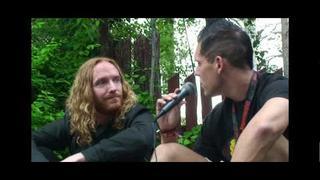 Dark Tranquillity Interview With Mikael Stanne at Nummirock 2010.mpg