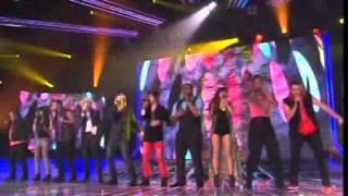 Darren Hayes & X-Factor Contestants sing Savage Garden Medley