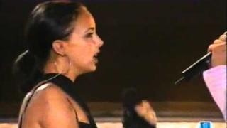 DAVID BISBAL & CHENOA ESCONDIDOS Live BG SUB
