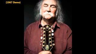 David Crosby - Lady Friend (1967 Acoustic demo)