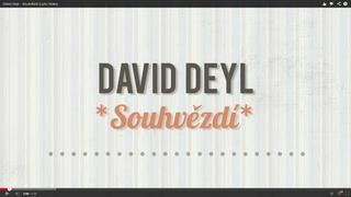 David Deyl - Souhvězdí (lyric video)