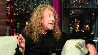 David Letterman - Robert Plant & Elvis Presley