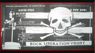DAVID PEEL - UP AGAINST THE WALL